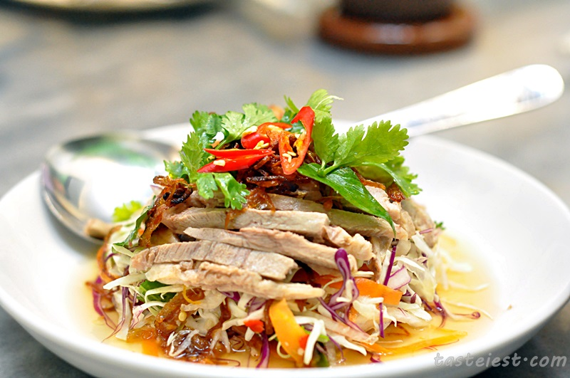 Boiled Duck Meat Salad