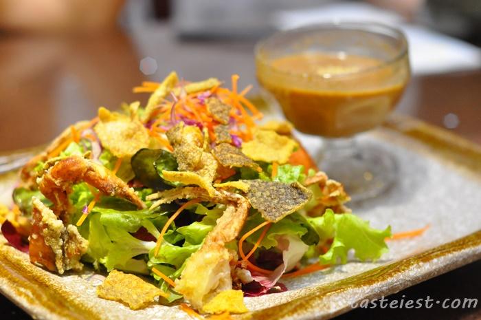 Shake Ikura Salad