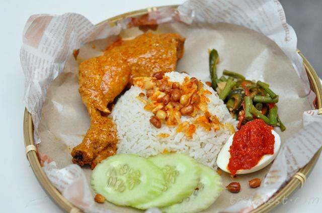 Ayam Rendang Nasi Lemak